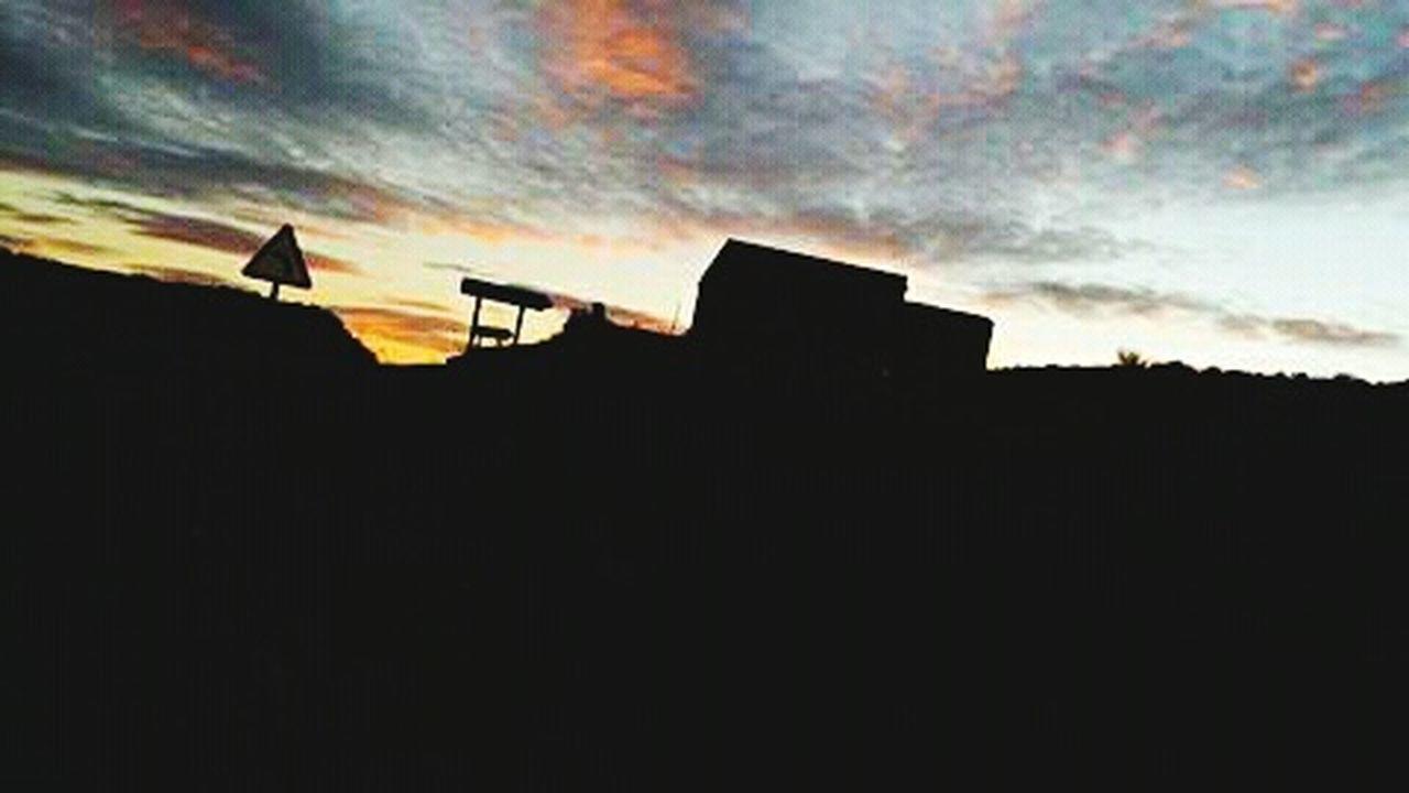 Carretera Carreteras Road Anocheciendo Sunset Sunset_collection Sunset Silhouettes Siluetas Silueta