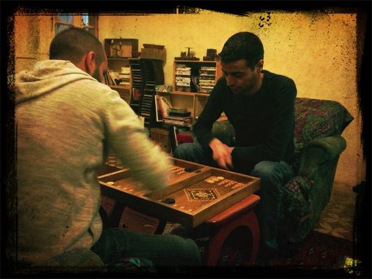 backgammon by Samer Gedeon