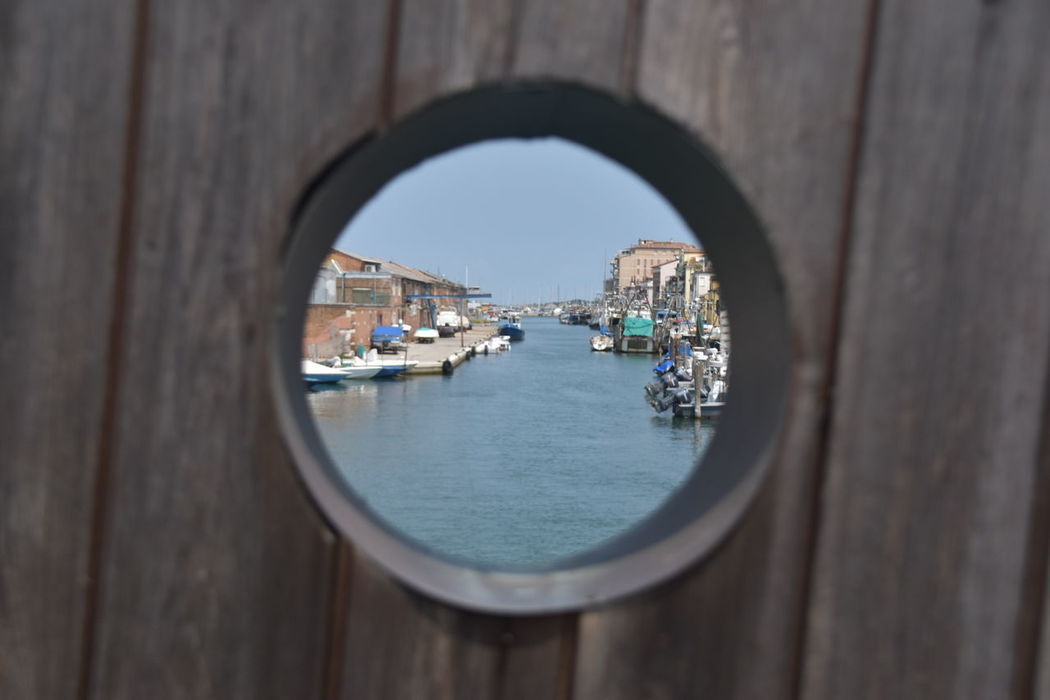 Water Architecture Day City Outdoors Sky Meer Sommer Warm Blue Chioggia, Italy Bridge
