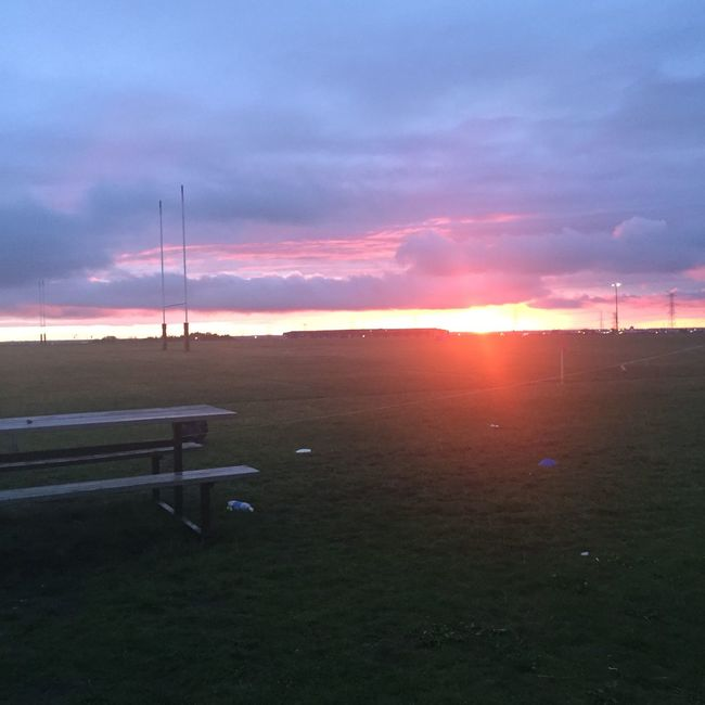Saturday was a rugby day 🌅