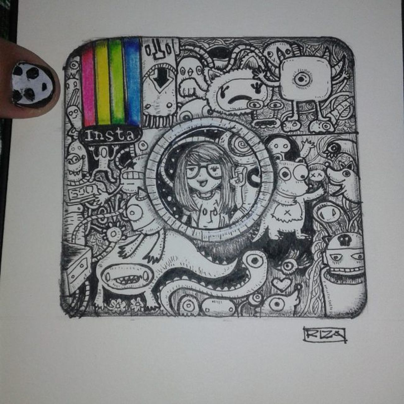 doodle before dawn 😂 Art907_ Justartshares Justartspiration Imaginationarts Official_art_page Arts_help Artworld_share Tacart Theartslovers Featuregalaxy Spotlightonartists Art_spotlight Goodartguide Artmg03 Art_cola Theartcommunity Arts_gallery Dailyarts Worldofartists Phanasu Sketchbook Pen Drawing Illustration Dailyartistiq inktober 10 _talent