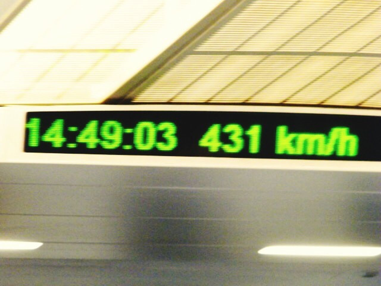 Capture The Moment High Speed Train in Shanghai, China Traveling Travelphotography Transport Tecnology