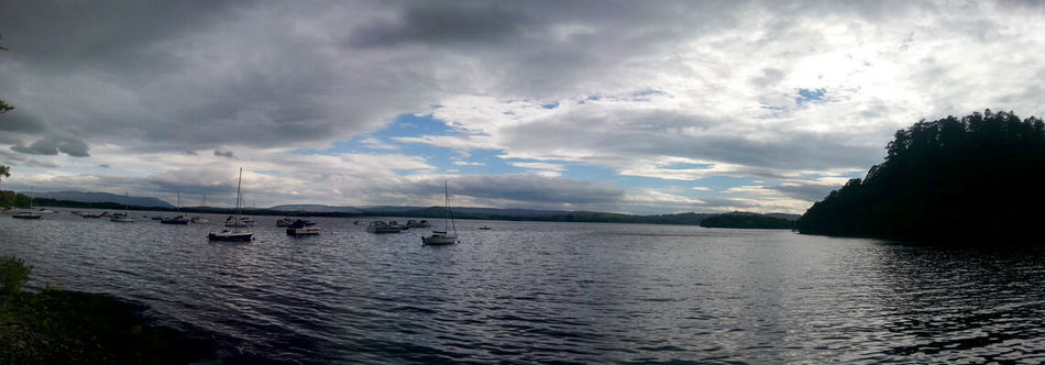 Architecture Beauty In Nature Cloud - Sky Day LochLomond Nature No People Outdoors Panorama Scenics Scotland Sea Sky Tranquil Scene Tranquility Water