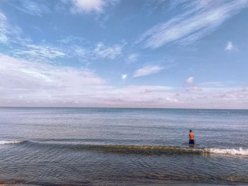 Sunnydaysaturday Horizon Over Water Seascape Tranquility Outdoors Ocean Eye4photography  Eyeem Philippines Eyeemasian Everydayphilippines Everydayasia