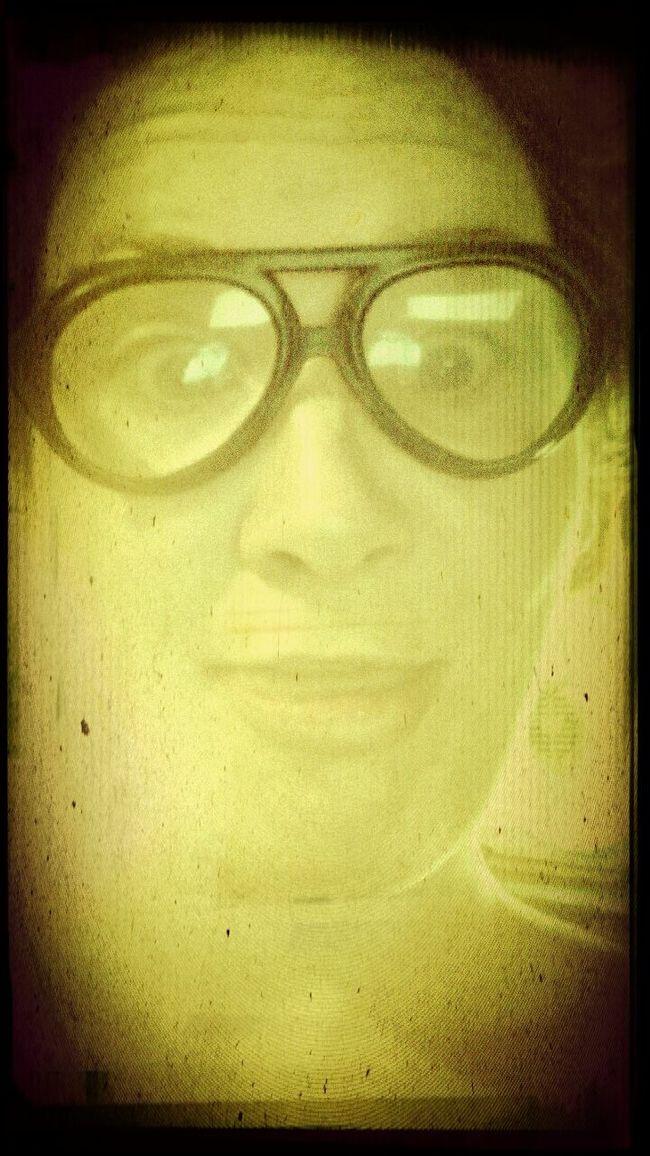 People Portrait My Nerd Glasses Being Lame