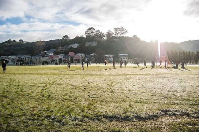 Hanging Out Taking Photos Check This Out Relaxing Hello World Morning Sun Enjoying Life Taking Photos Park Winter Sunrise Hi! Newzealand Otago University Otago Football Pitch