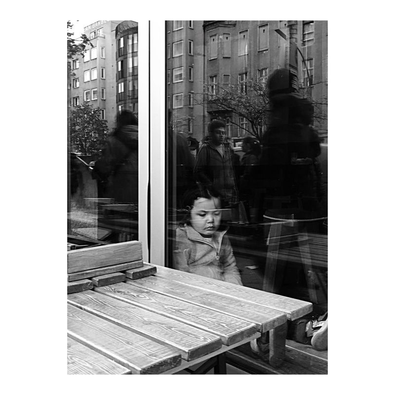 Windows of thoughts Berlin Berlin Photography Berliner Ansichten Blackandwhite Photography Bnw_collection Bnw_life C/O Berlin Child City Hikaricreative People Photo Contest Reflection Social Documentary Street Life Street Portrait Streets Stories The Street Photographer - 2017 EyeEm Awards Thinking Thoughts Windows