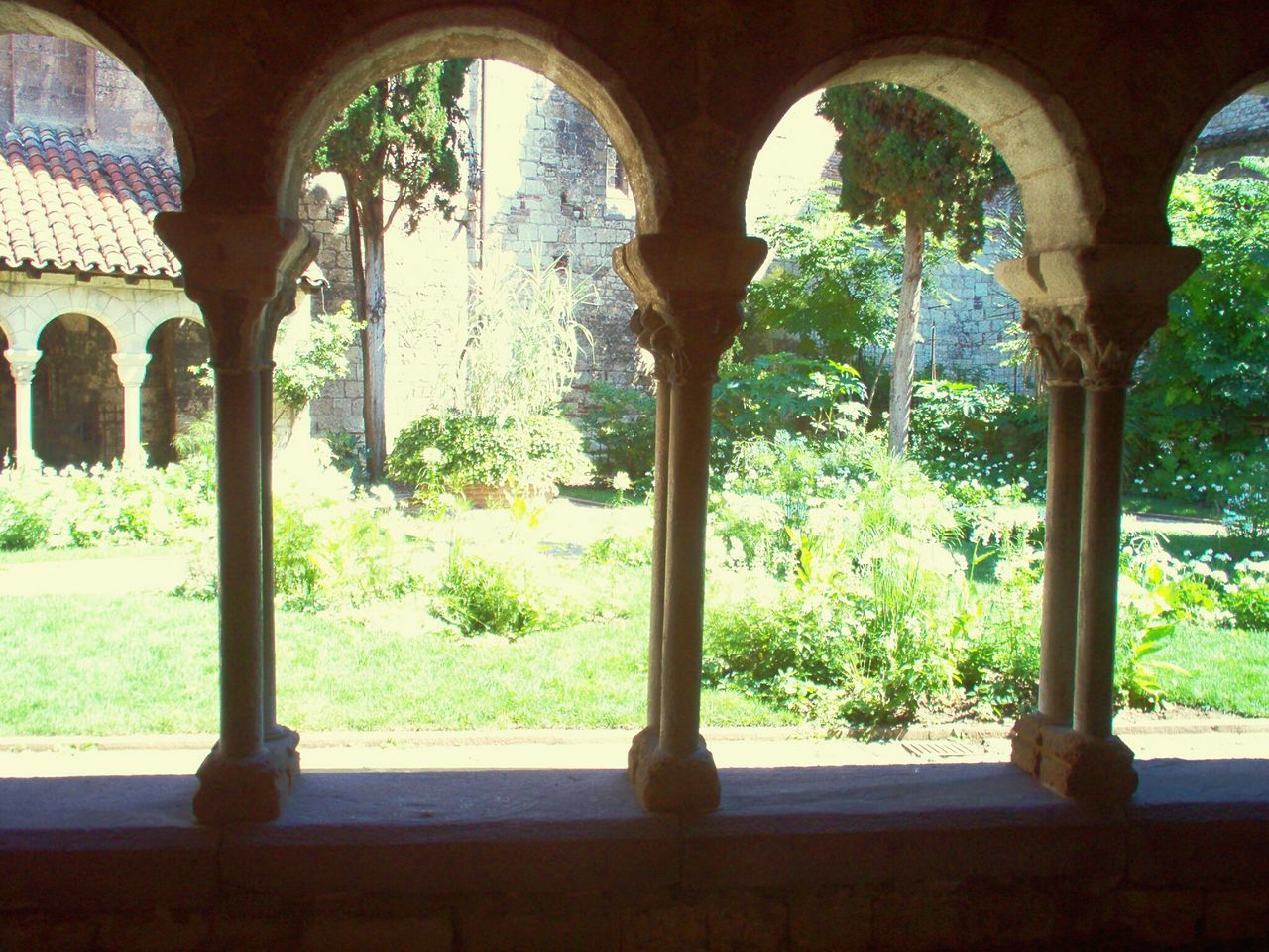 Monastery cloister Courtyard  Garden Peace And Quiet La Alberca