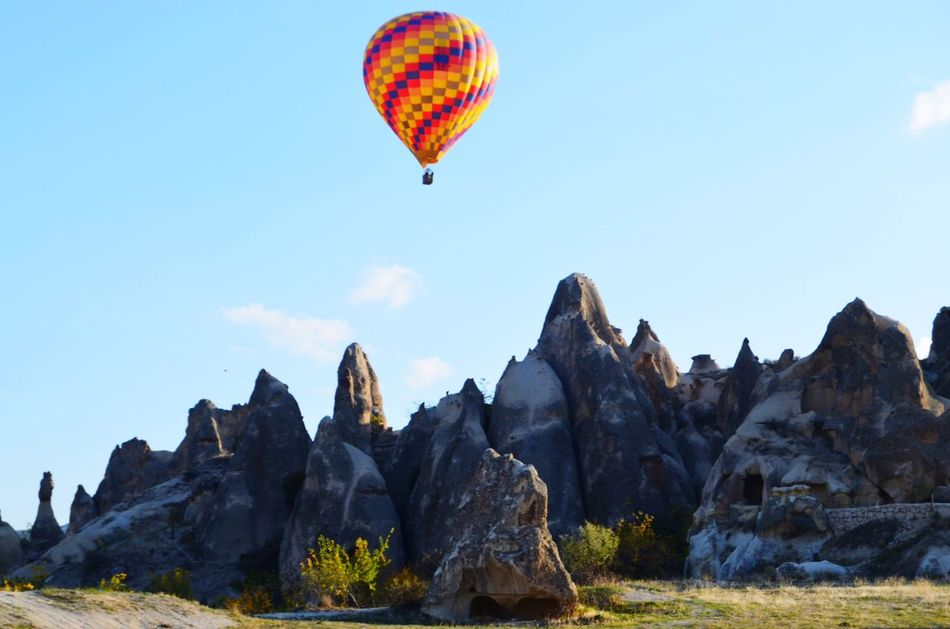 Beautiful stock photos of balloon, Beauty In Nature, Cappadocia, Day, Flying