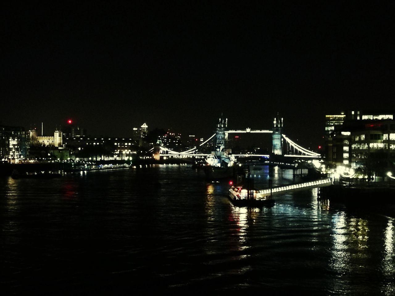 London City Of London Bridge Illuminated Architecture Travel Destinations Cityscape Night City River Thames Thamesriver
