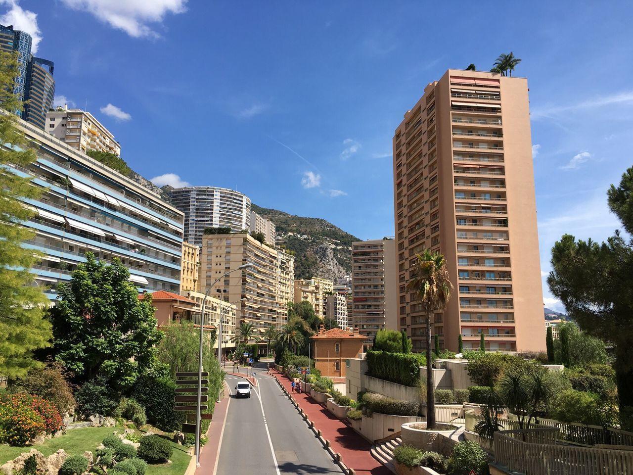 Monaco Road Architecture Built Structure Building Exterior Summer City Europe