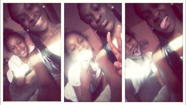 She wanted to take pics Lol #Babysitting