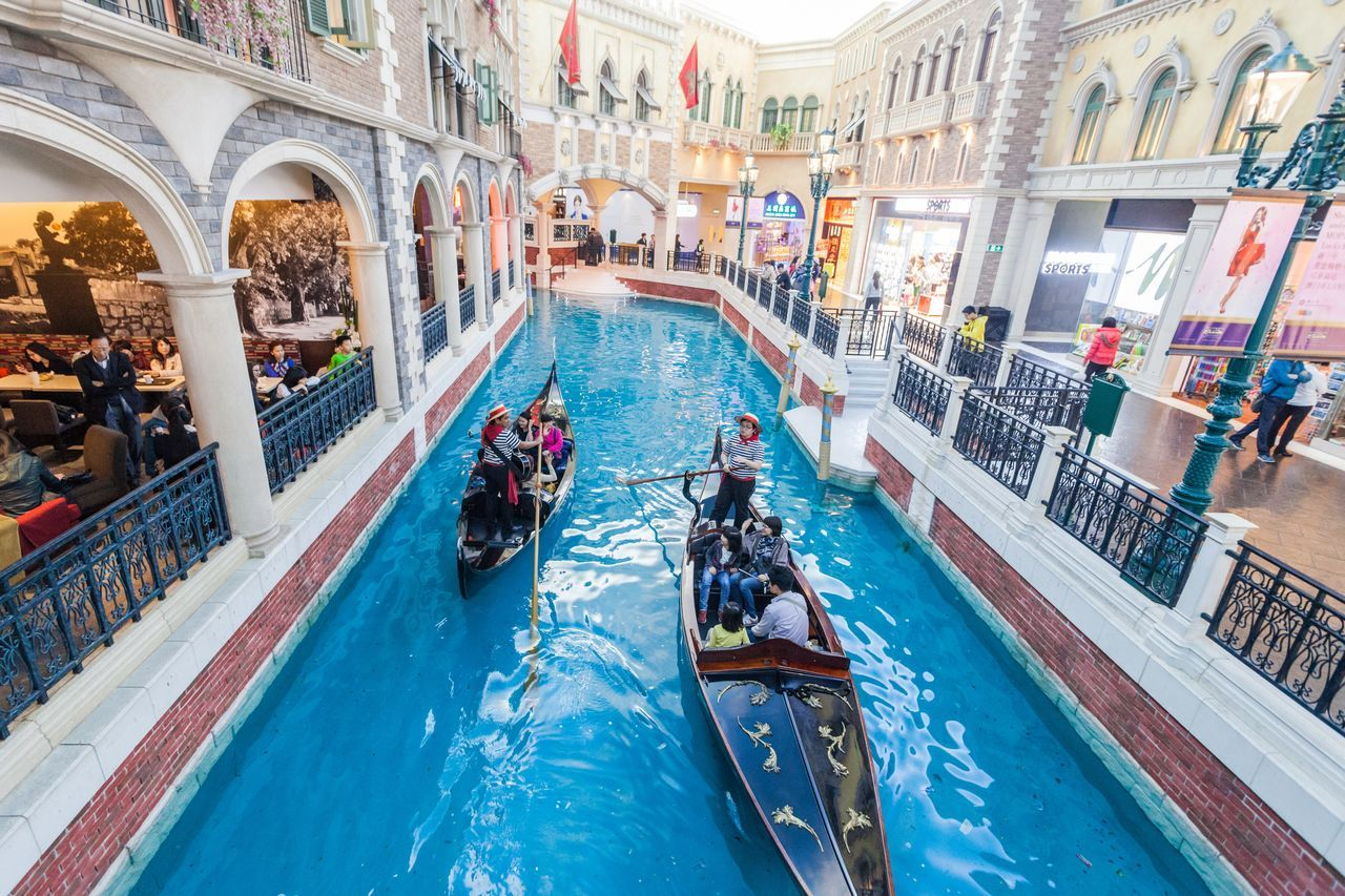 The Venetian Macao is a luxury hotel and casino resort in Macau owned by the American Las Vegas Sands company. Adult Adults Only Architecture Casino Cotai CotaiStripMacau Crowd Day Hotel Interior Interior Design Large Group Of People Macao  Macao China Macau Macau, China Men Outdoors People Shopping Shopping ♡ The Venetian The Venetian Macau Resort Hotel Travel Destinations Venetian