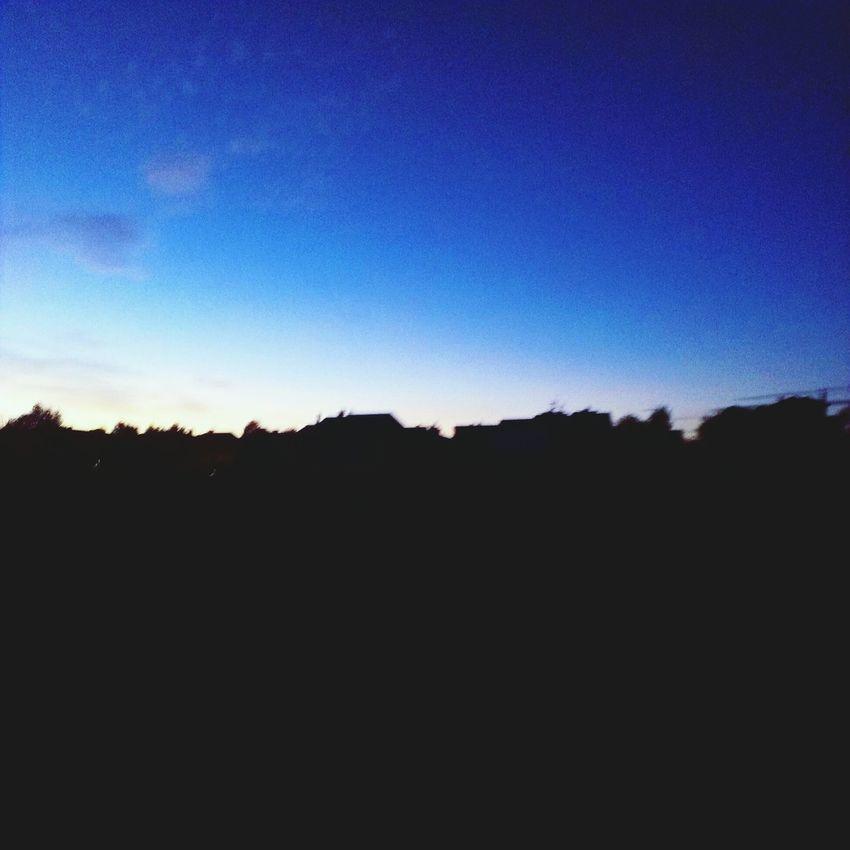Sky Blue Sky morning