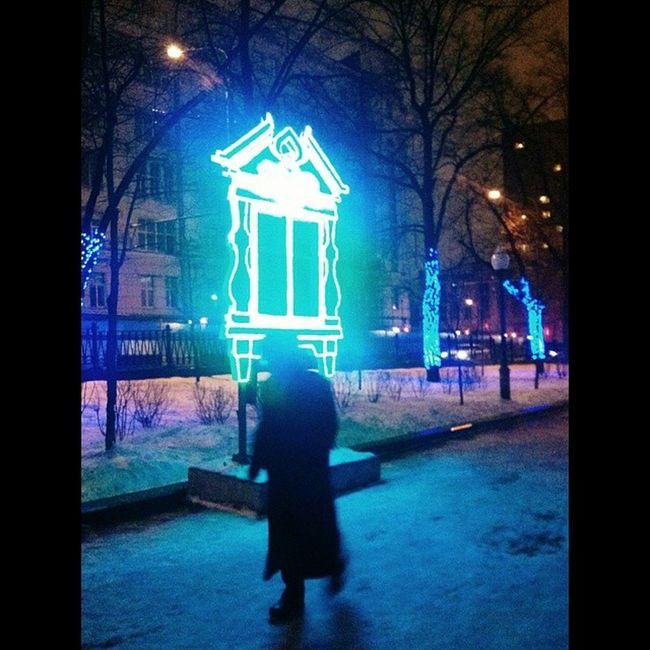 Вчера на Яузском бульваре. Vscocam Nyspirit Moscowwinter
