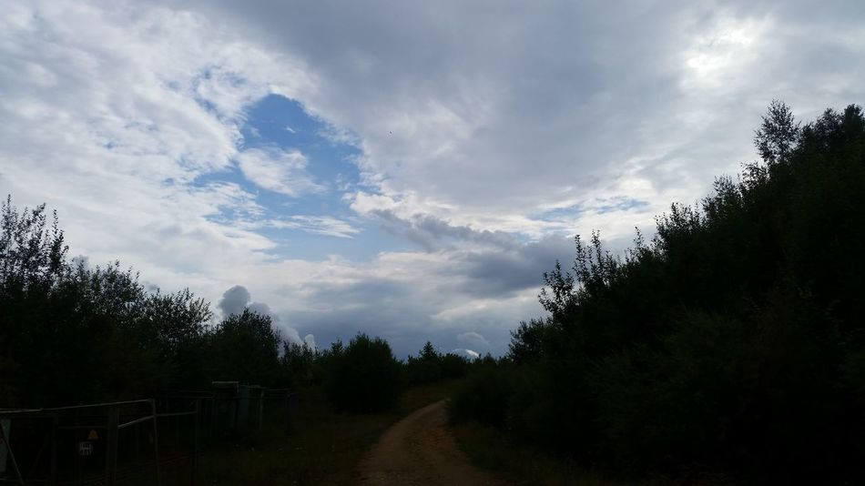 Sky And Clouds Himmel Clouds Wolkenhimmel Himmel Und Wolken Taking Photos Outdoor Photography Hello World Nature Trees Wege Natur