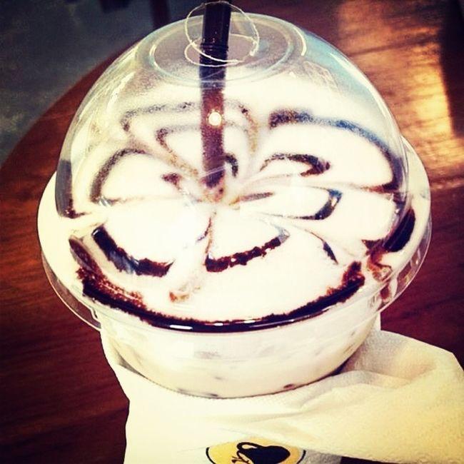 iced coffee !