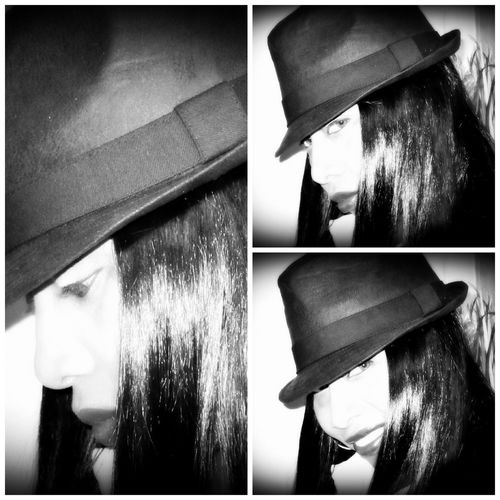 Minding my own business! Self Portrait Blackandwhite Black And White Portrait Black & White Bnw Bw_collection Picframe