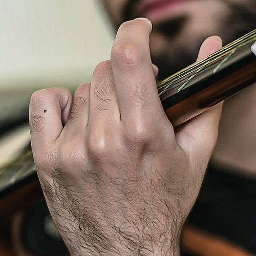 The player Theguitarist Guiltyhand Stickyfingers Callingthetune Working For Mtv In It For The Money Fenderguitar Nikon D750 Close-up Leisure Activity Enjoying Life