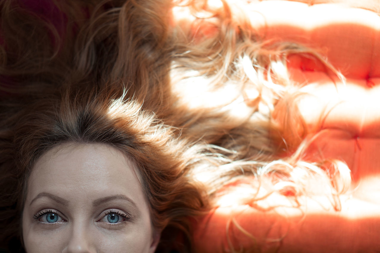 Portrait Looking At Camera Human Eye One Person Human Face People Human Body Part Adult Eye Headshot Beautiful Woman One Woman Only Close-up Portrait Of A Woman Hair Hairstyle Colors Colours Light And Shadow Light The Portraitist - 2017 EyeEm Awards Blue Blue Eyes