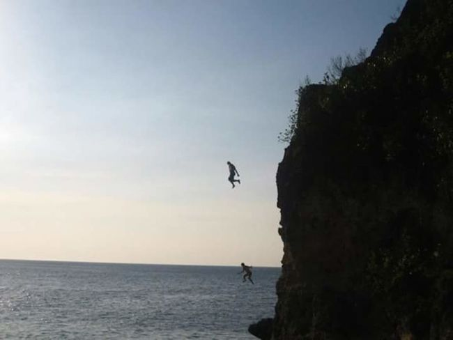 Cliffside Cliff Cliff Jumping Clifftop Cliffsandsea Cliffview