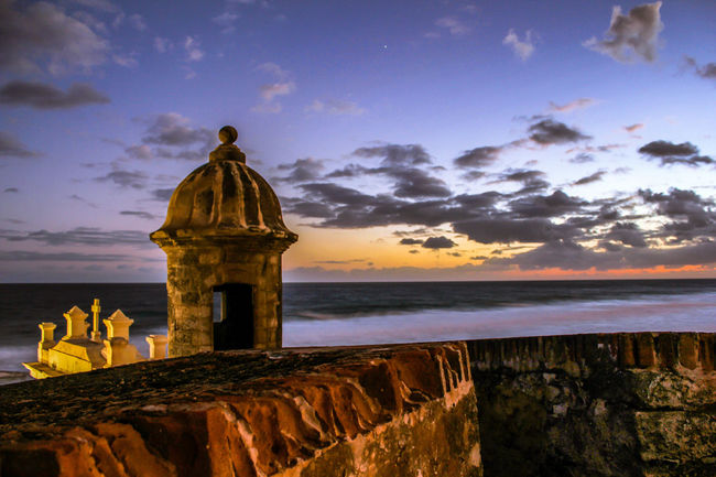 Ancient Civilization Atmospheric Mood Beautiful Cloud Cloud - Sky Cloudscape Cloudy Dramatic Sky Dramatic Sky Dusk El Morro Garita Graveyard History Moody Sky Orange Color Outdoors Overcast Puerto Rico Religion Silhouette Sky Spirituality Storm Cloud Sunrise Sunset Viejosanjuan