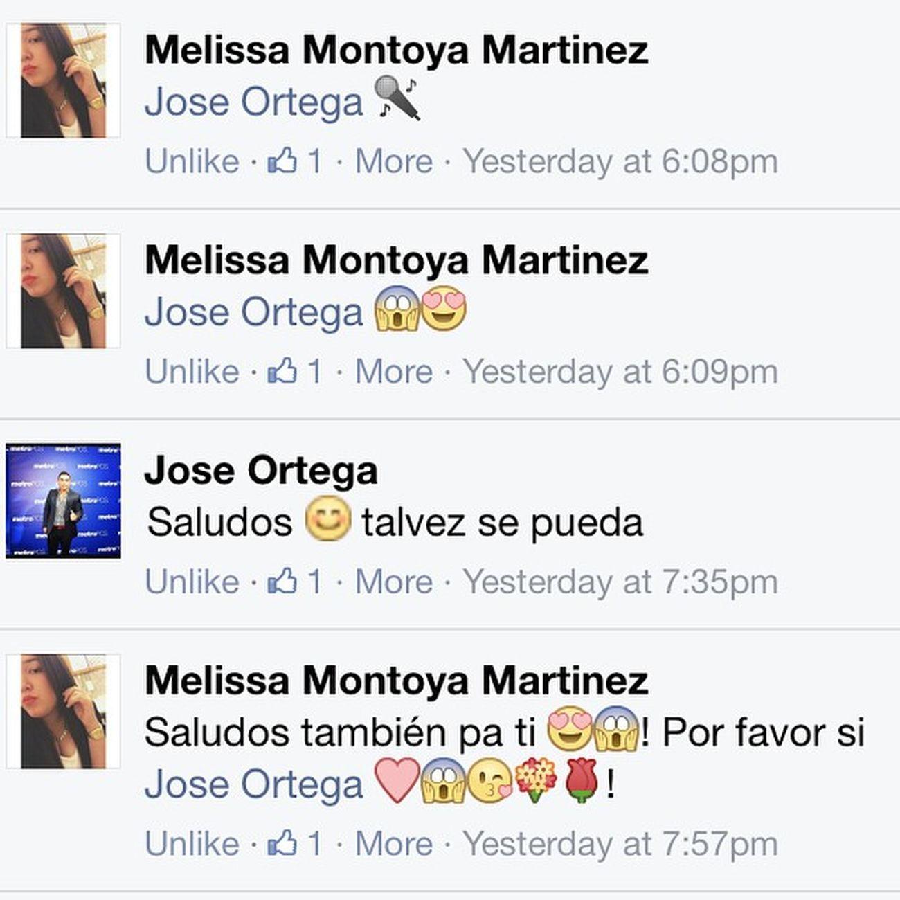 He's the best @joseortegamusica 😘✌️💯🎤! Saludos TeamOrtega 💯🎤💋
