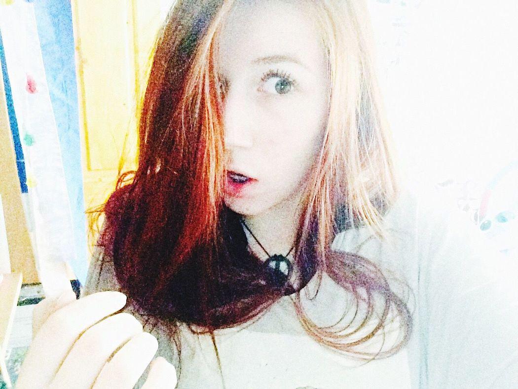 Good Morning Red Hair Hi! Enjoying Life Relaxing Me :)