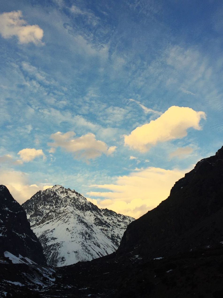 Cordillera De Los Andes Losandes Nieve 2016 Mountains First Eyeem Photo