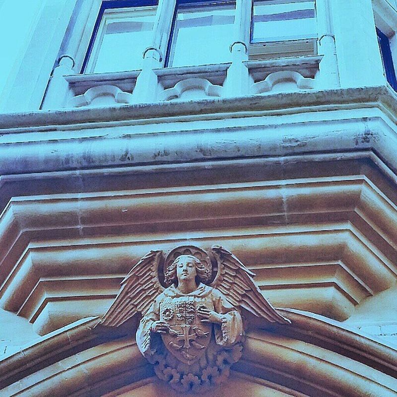 There can never be too many angels Dean 's yard Green Building Architecture westminster