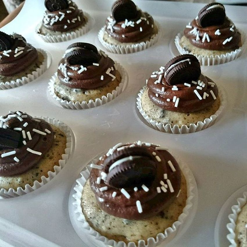 New on the cuppies menu 👌😘 CookiesNcream BakedBites