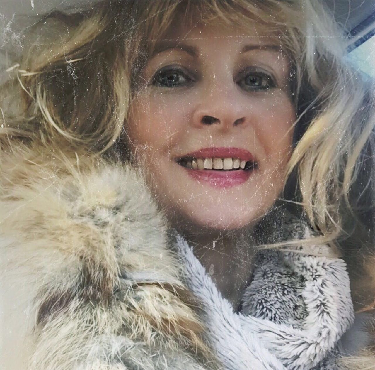EyeEmNewHere Warm Clothing Fur Coat Looking At Camera Fur Only Women Cold Temperature Portrait Beautiful People One Woman Only Beauty Winter One Person Adults Only Beautiful Woman Close-up Smiling Adult Snow Cheerful People