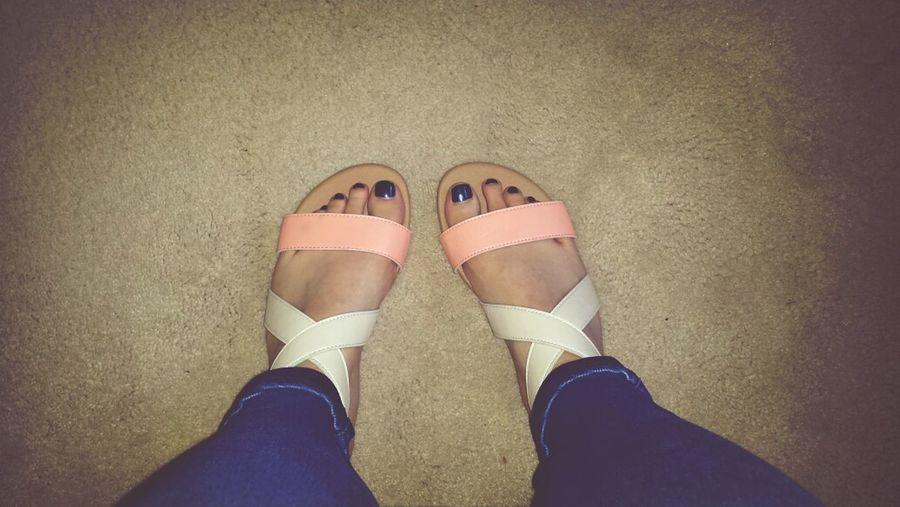 Most comfortable sandals ? Sunnydays Penneys Primark Coral