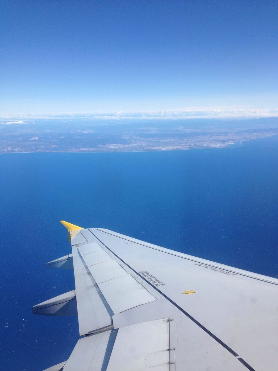Adios Barcelona Fly Me To The Moon Up In The Sky Flying Away Beautiful Earth Enjoying The View Planes Sunny Day