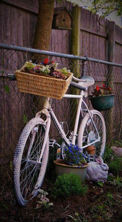 My ghost bike Ghost Bike Flowers,Plants & Garden
