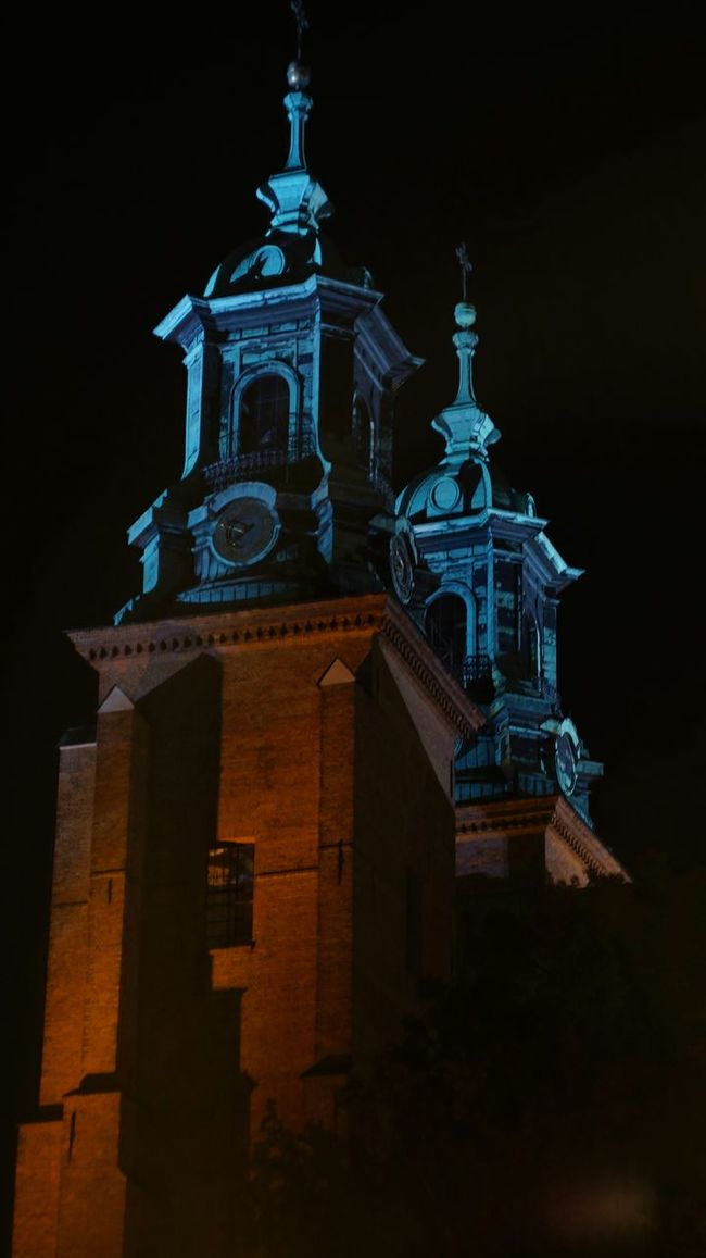 Next. View from the other site. Cathedral Night View Nightphotography Clock Tower Church Towers