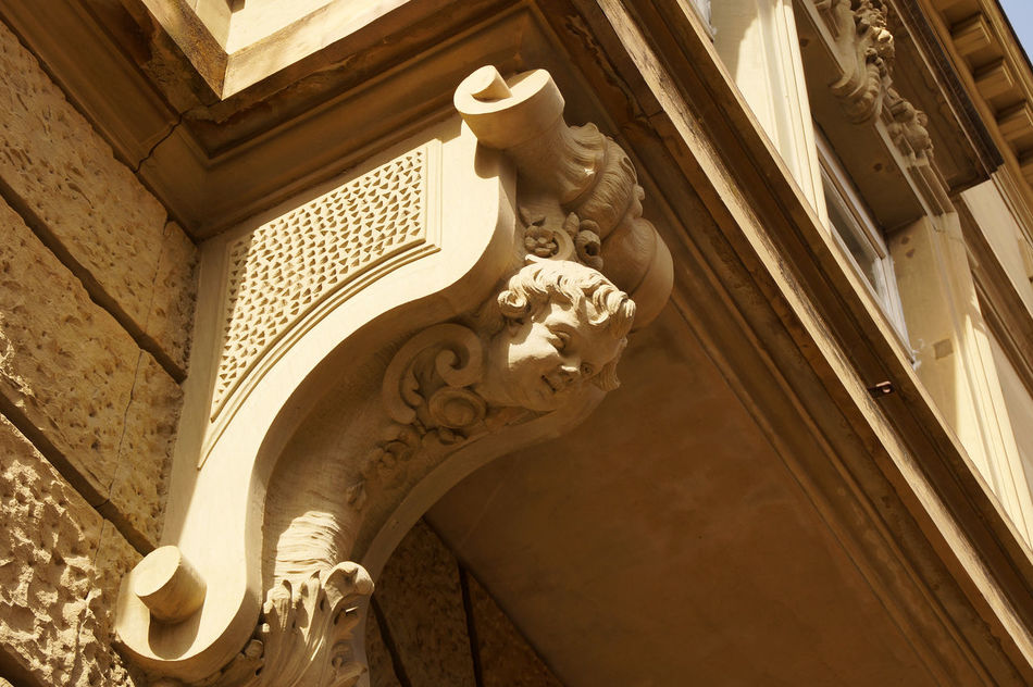 Detail of an art nouveau Building Angel Architectural Detail Architecture Art Nouveau Art Nouveau Architecture Art Nouveau Buildings Art Nouveau Style Bay Window Historic Building History The Past