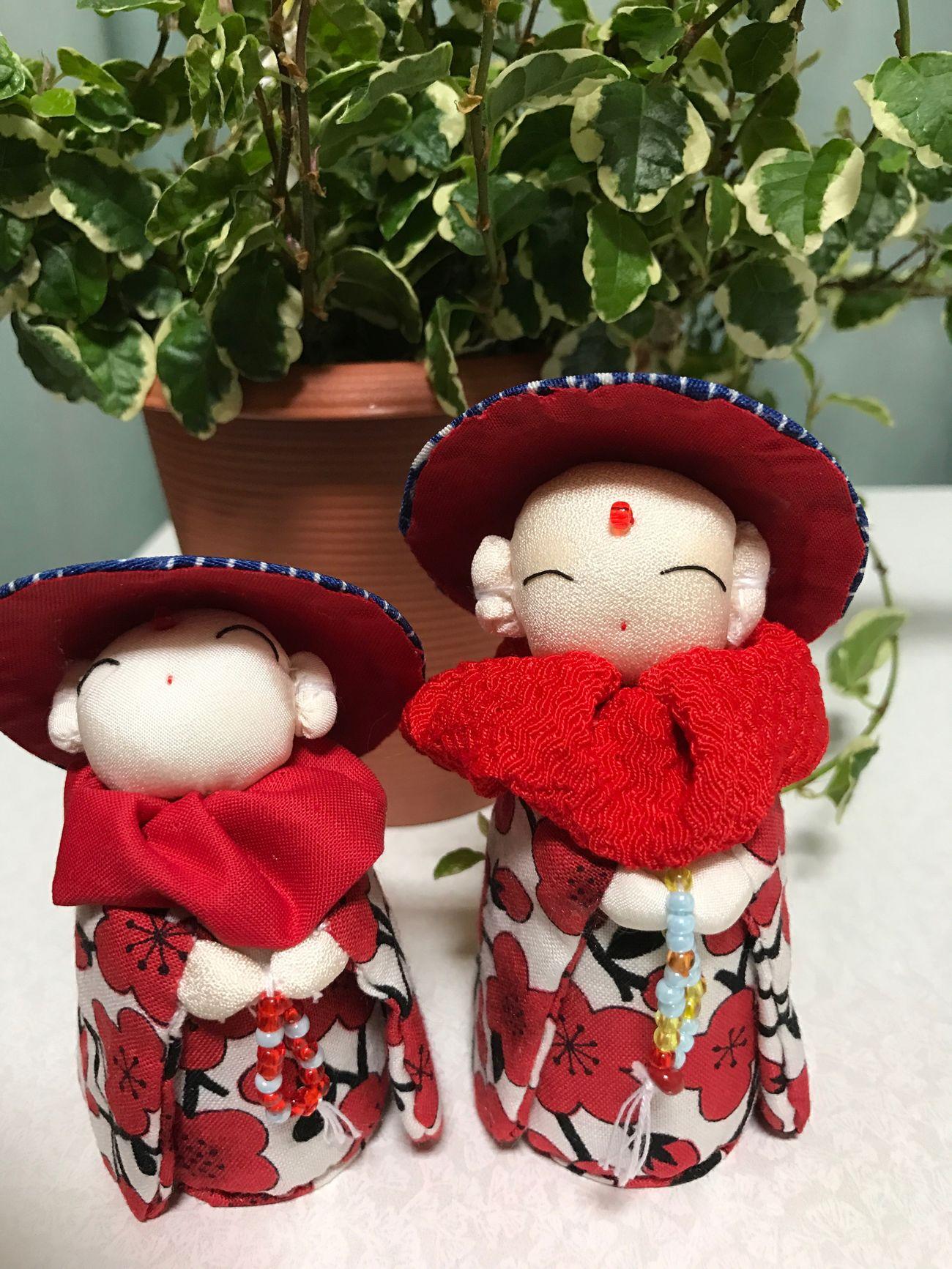 大好きなお地蔵さん❤️ Red No People Teddy Bear Close-up Stuffed Toy Indoors  Day EyeEm Gallery Iphone7 Happy Japan EyeEm Best Shots Love Fukuoka Peace お地蔵さん 癒し お早う 可愛い ハンドメイド 大川市 テンション アゲアゲ