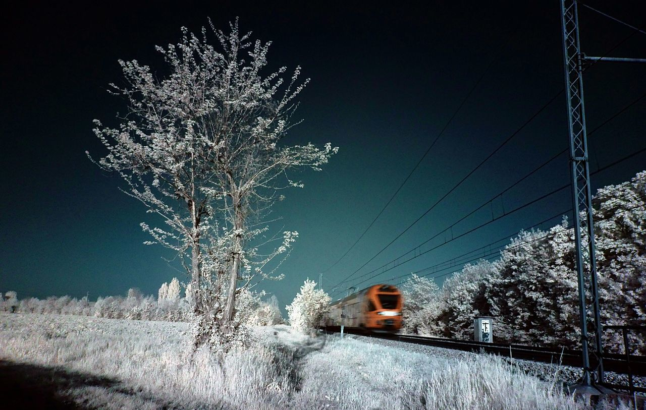 Train Infrared Photography Infrared Ir 72 Look At This Taking Photos Waiting For The Train