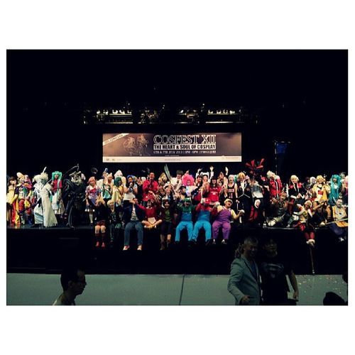 I'm glad to be the official photographer of the #cosfestXII, seeing everyone enjoying themselves is really great. #cosfest #Singapore Singapore Cosfest Cosfestxii
