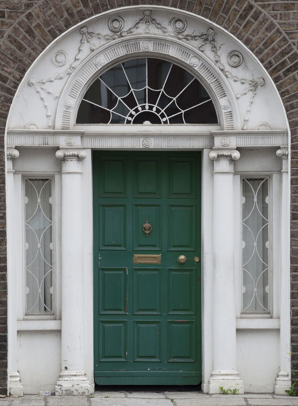 Dublin Green Individuality Ireland Old Fashioned Resistance  Wood Architecture Building Exterior Civil Day District Door English Entrance Gregorian Historical Law Medieval Neighborhood No People Outdoors Series