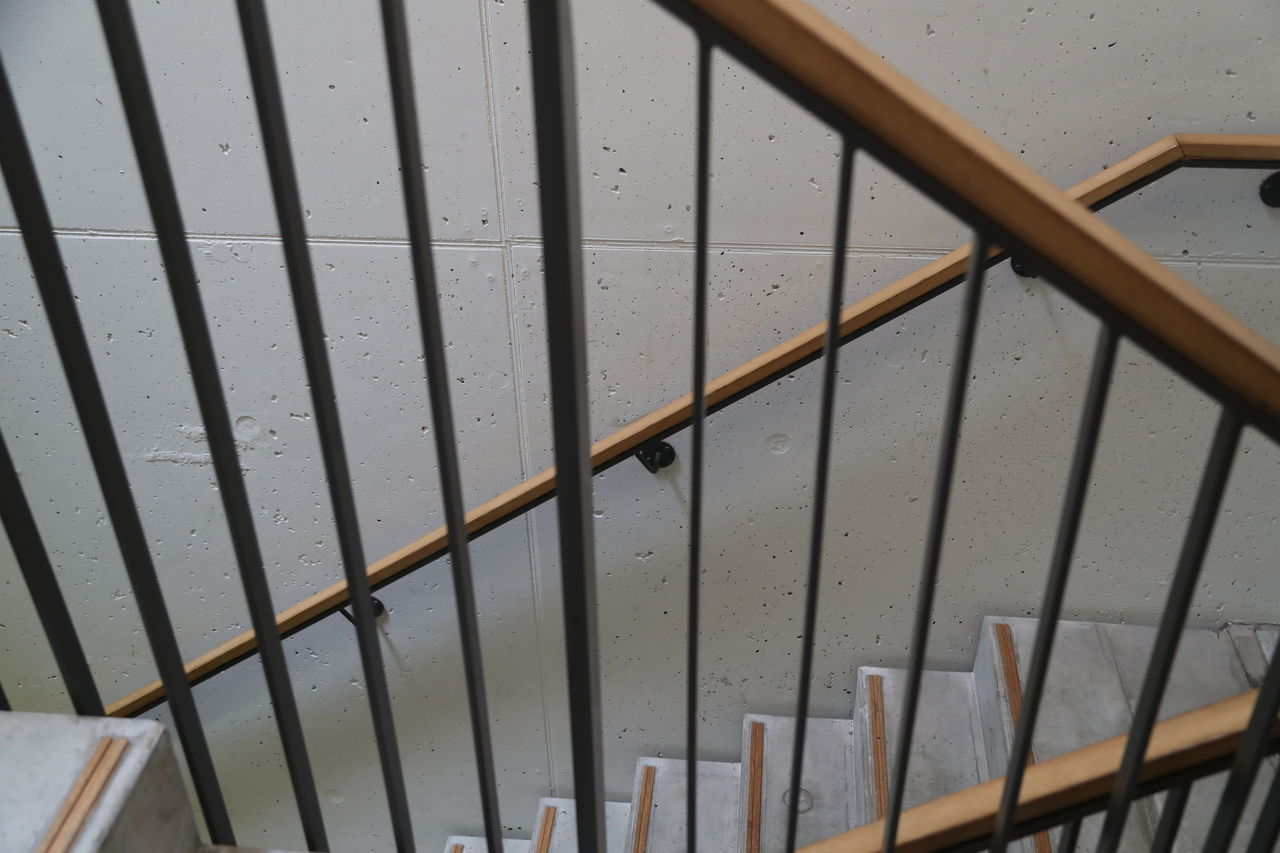 Bars Close-up Indoors  No People Pattern Staircase Stairs Wood - Material Wooden Railing