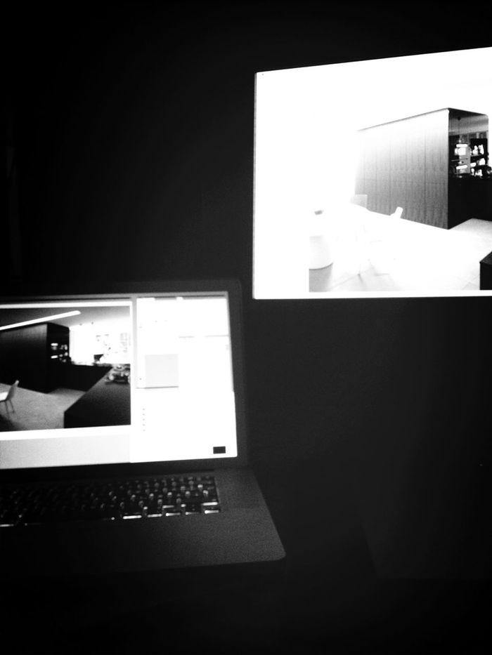 Working Designing My Desk