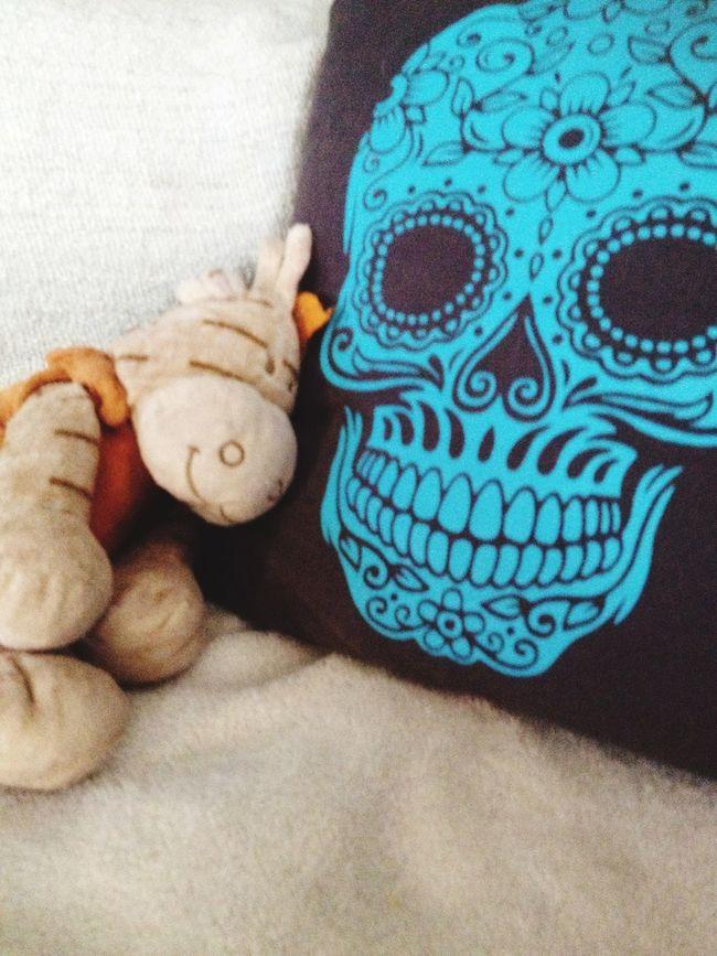 Beginningending Lifeanddeath Doudou Flowerandskull Cuddle
