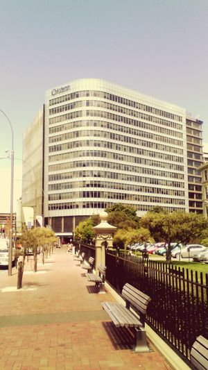Standing by the law school, this is the building I work in. First Eyeem Photo