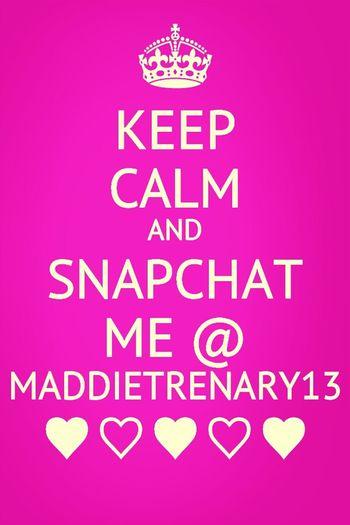 @ maddietrenary13 :)