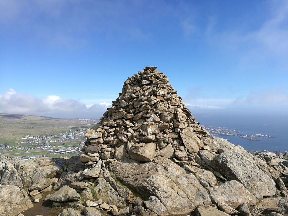 Komgavarði Outdoors Rock - Object Cloud - Sky Sky No People Nature Mountain Landscape Scenics Beauty In Nature Day Mountain View Beauty In Nature Varði