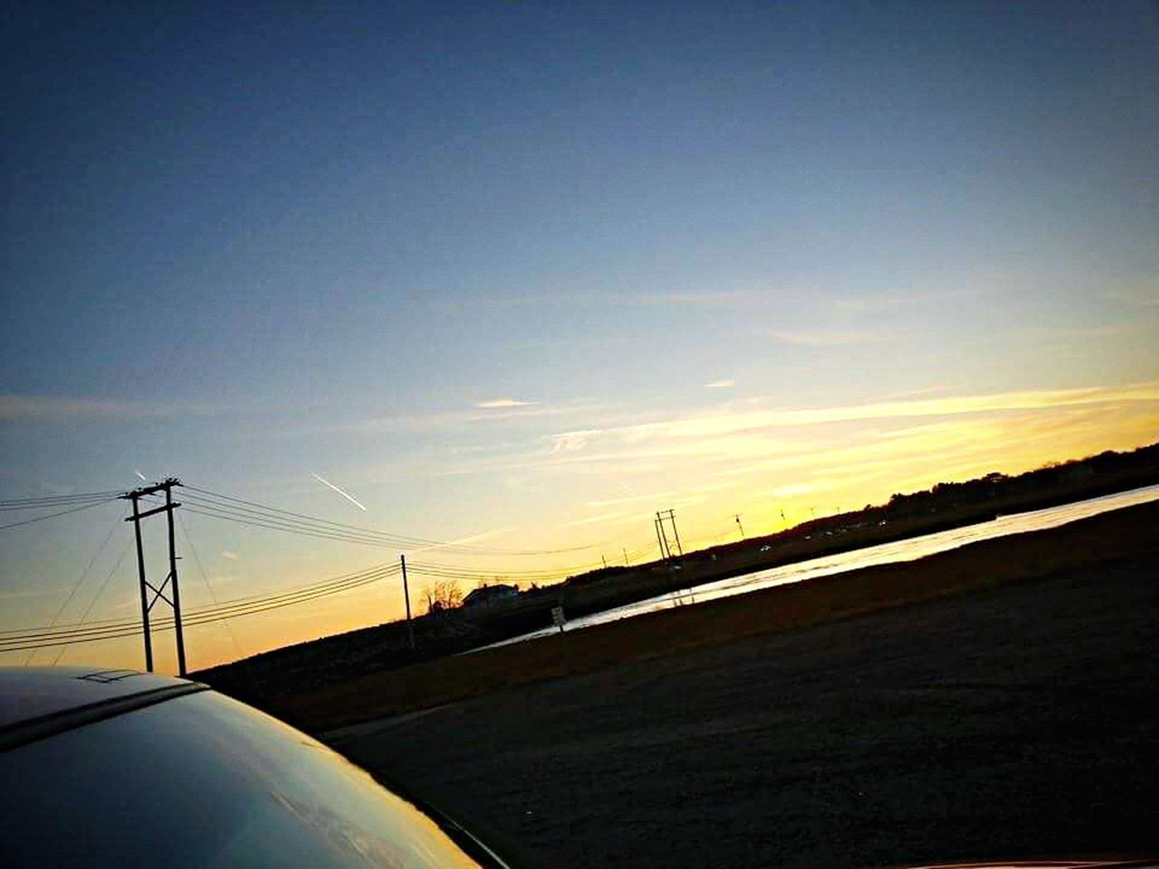 Some more from highschool. Sunset Sky No People Fuel And Power Generation Electricity  Connection Electricity Pylon Nature Outdoors Alternative Energy Day