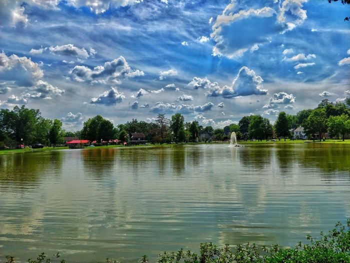 Water Reflection Lake Tree Nature Beauty In Nature Day Scenics No People Waterfront Outdoors Sky Tranquility