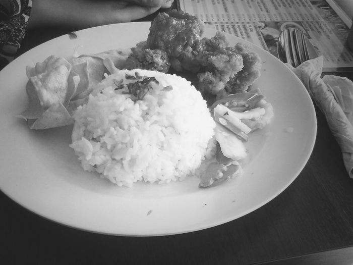 Lunch. Sweet & Sour Chicken with Rice :)